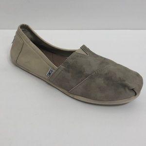 Toms Camo Color Block Shoes Size W 9.5
